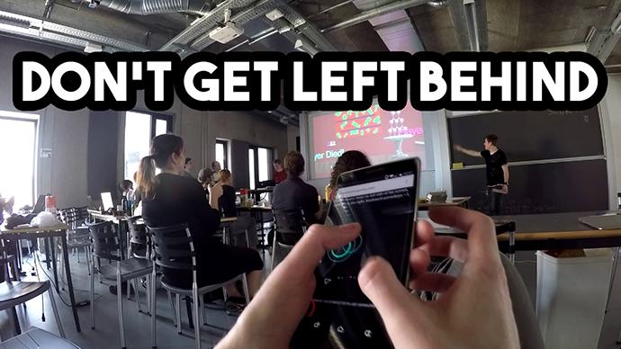 Don't Get Left Behind