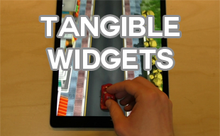 Tangible Widgets and Scrolling Cameras